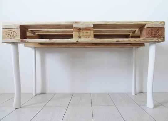 biurko z palety