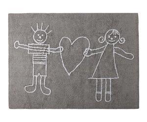 dywan szary dla dziecka