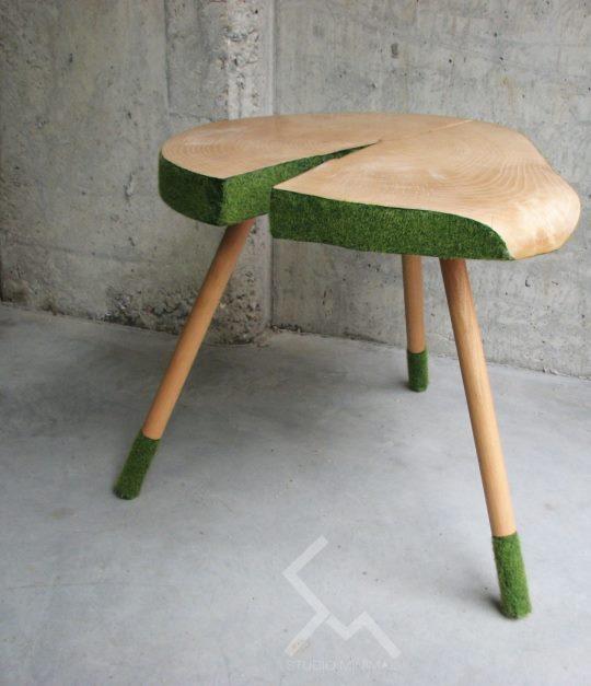 stolik z pnia