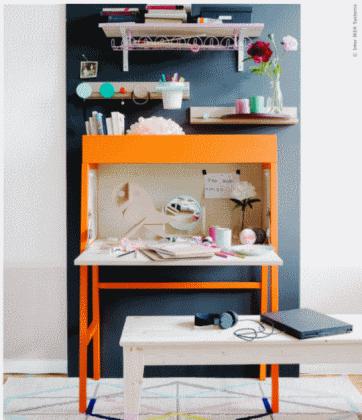 Ikea PS inspiracje sekretarzyk