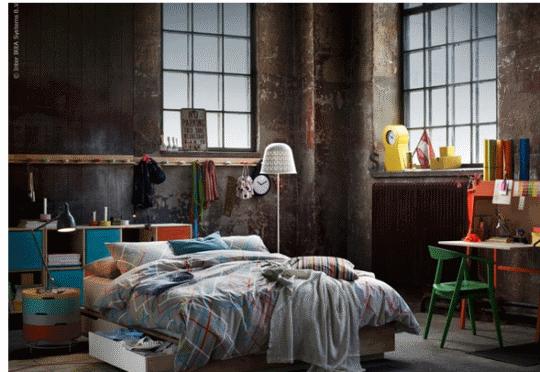 Ikea inspiracje sypialnia