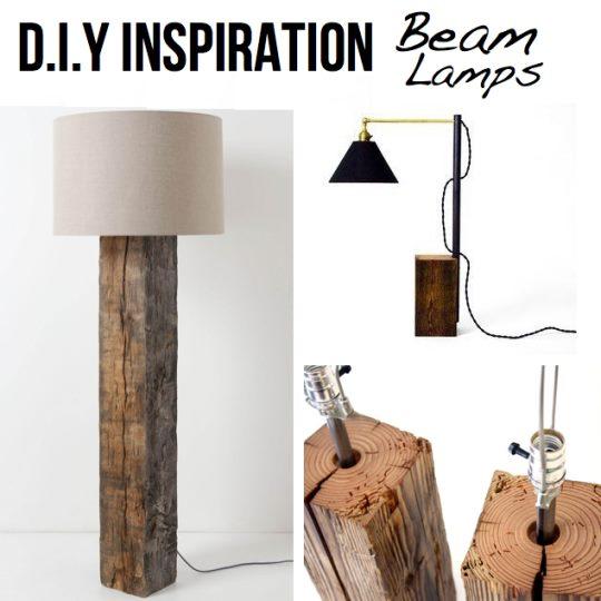 Lampa drewno zrób to sam