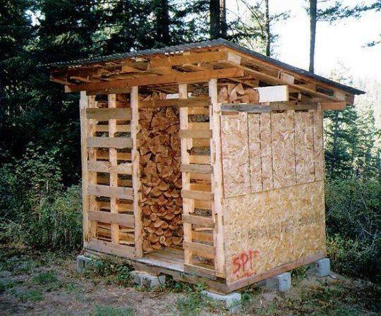 drewutnia z palet