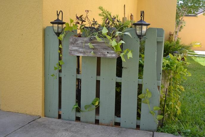ogrodzenie z palet
